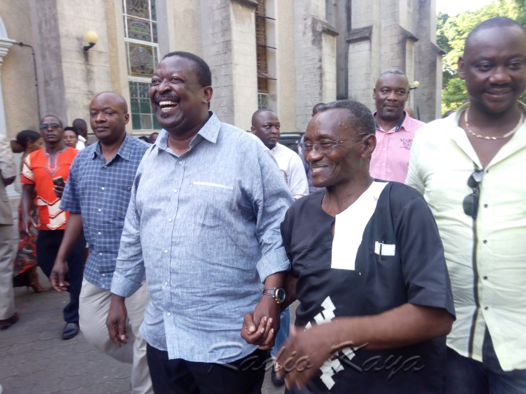 Kiongozi wa chama cha ANC Musalia Mudavadi